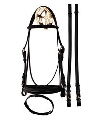 Bobby's Flash Noseband Eventer Bridle