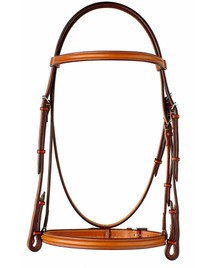 "Edgewood 5/8"" Plain Raised Bridle"