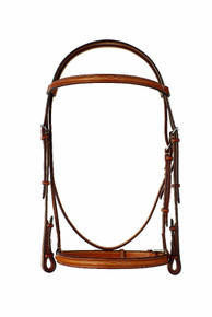 "Edgewood 5/8"" Fancy Stitched Raised Bridle"