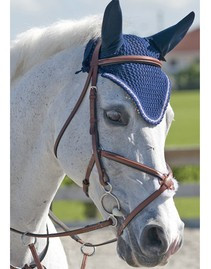Rodrigo Pessoa Jumper Figure 8 Bridle with Rubber Covered Reins