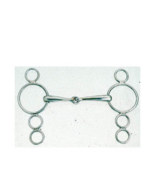 Korsteel Jointed 3 Ring Dutch Gag