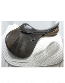 "Thoroughbred Badminton 17"" AP Used Saddle"