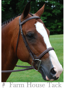 Red Barn by KL Select Kingston Hunter Bridle