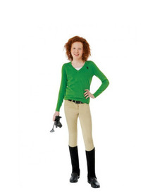 Ovation Child's Lauren Pull On Euro Seat Breeches