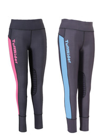 Tuffrider Ladies Marathon Knee Patch Tights