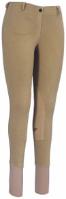 Tuffrider Ladies Ecogreen Bamboo Knee Patch Tights