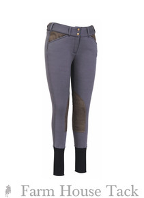 Tuffrider Ladies Unifleece Knee Patch Breeches