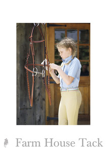 *Tuffrider Child's Cotton Front Zip Jodhpurs