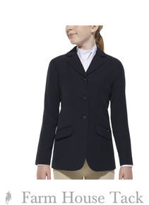 Ariat Girl's Heritage Show Coat -Navy