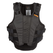 Charles Owen Outlyne Ladies Vest- Black/Graphite