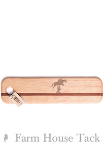 SVM French Bread Cutting Board - Horse