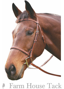 HDR Advantage Plain Raised Bridle
