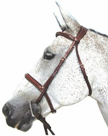 HDR Pro  Mono Crown Padded Bridle