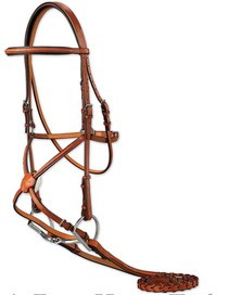 "Edgewood 5/8"" Padded Fancy Figure 8 Bridle"