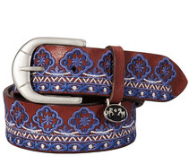 Equine Couture Angela Embroidered Belt