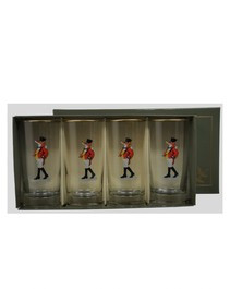Equestrian Glassware - Richard C Bishop Snooty Fox Highball Glass Set