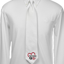 Essex Danny & Ron's Rescue White Pique Grand Prix Tie