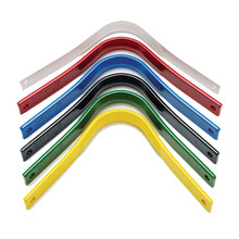 Yellow-Narrow Green-Medium Narrow Black-Medium Blue-Medium Wide Red- Wide White- Extra Wide