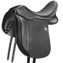 Bates Dressage+ Saddle Wide w/CAIR