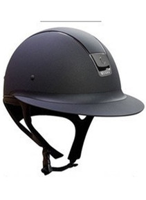 Samshield Miss Shield Black Shadow Matt Crystal Helmet