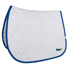 Lettia Embroidered Alligator Baby Pad
