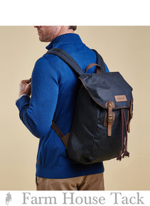 Barbour Wax Leather Back Pack