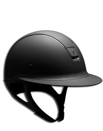 Miss Shield Samshield Black Shadow Matt Helmet