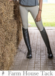 Ego7 VB Low Rise Knee Patch Jumping Breeches