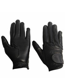 TuffRider Kids Leather Summer Gloves