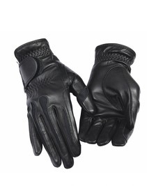 TuffRider Leather Summer Gloves