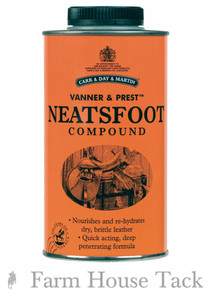 CDM Horse Vanner and Prest Neatsfoot Compound