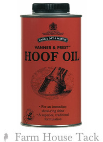 CDM Vanner and Prest Hoof Oil