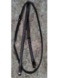 Black Oak Square Fancy Stitch Standing Martingale
