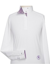 Essex Fiore Girls Wrap Collar LS Talent Yarn Shirt