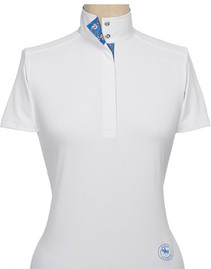 "Essex ""Papillon"" Straight Collar SS Talent Yarn Shirt"