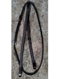 KL Select Black Oak Fancy Round Raised Standing Martingale