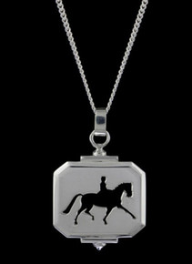 Loriece Equestrian Dressage Extended Trot Necklace