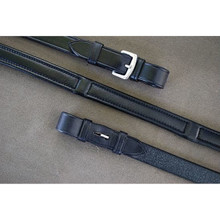 KL Select RB Calf Lined Dressage Reins