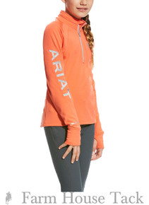 Ariat Girls Tek Team 1/2 Zip