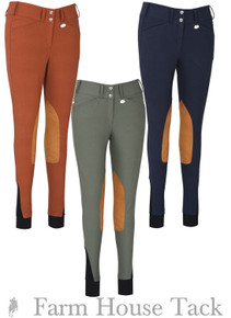George H Morris Ladies Show Time Knee Patch Breeches