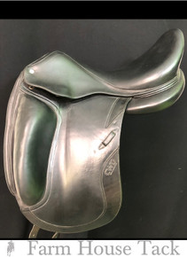 "CWD SWO 5 MW 17.5"" Used Dressage Saddle"