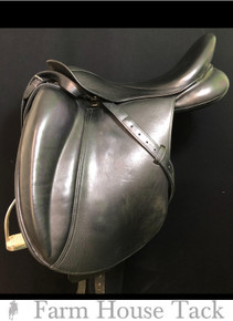 "MT Toulouse Platinum Marianne 17.5"" Used Dressage Saddle"