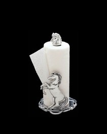 Arthur Court Equestrian Paper Towel Holder