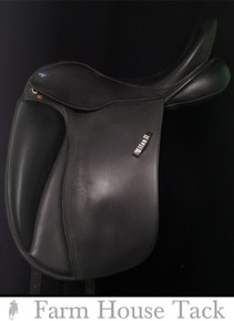 "EuroRiding Titan II 17.5"" Used Dressage Saddle"