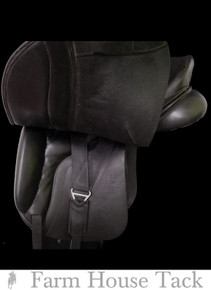 "Custom Victory 17.5"" Used Dressage Saddle"