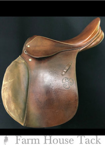 "Stubben Siegfried  17"" Used All Purpose Saddle"