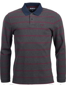 Barbour Lineout Striped LS Polo