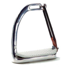 Union Hill Fillis Stainless Steel Peacock Safety Stirrup Irons