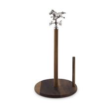 Arthur Court Equestrian Horse Weather Vane Towel Holder