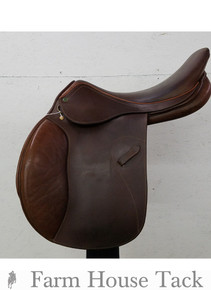 "HDR Memor-X 18"" Used Close Contact Saddle"